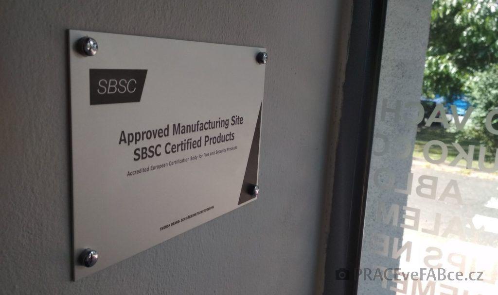 Úspěšná certifikace SBSC