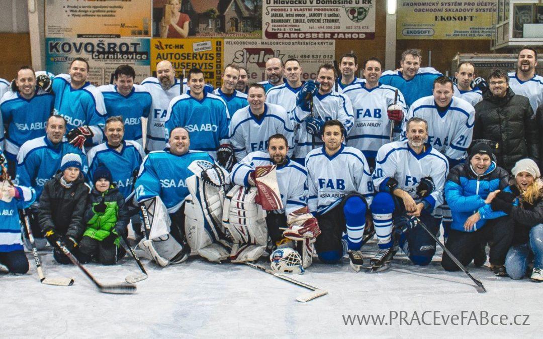 FABka hrála hokej pro charitu