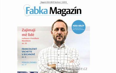Předvánoční číslo časopisu ASSA ABLOY Fabka