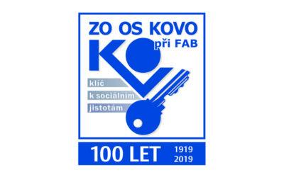 ZO OS KOVO při FAB letos slaví 100 let od svého založení