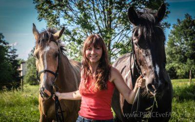 Kůň je křehká bytost – rozhovor s Vendulou Duškovou