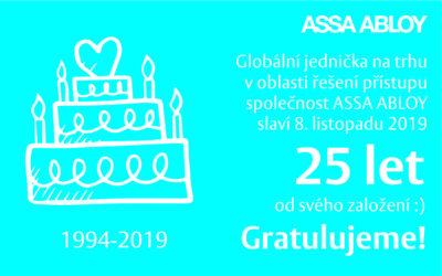 ASSA ABLOY slaví 25 let!
