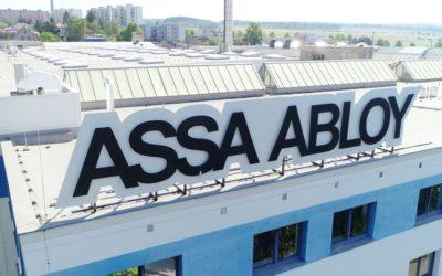 Oznámení o změně názvu společnosti na ASSA ABLOY Opening Solutions CZ s.r.o.