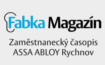 Jarní vydání Fabka Magazínu